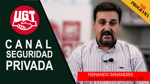 VIDEO | CANAL DE NOTICIAS DE SEGURIDAD PRIVADA FeSMC UGT MADRID (Programa 16)