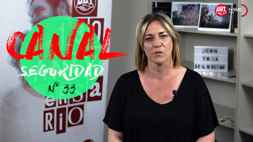 VIDEO | CANAL DE NOTICIAS DE SEGURIDAD PRIVADA FeSMC UGT MADRID (Programa 33)